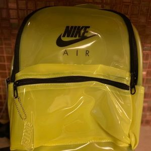 Nike Air translucent Neon Backpack